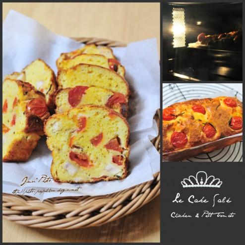Le Cake Salé Chicken And Petit Tomato
