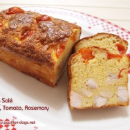 Le Cake Salé Chicken, Tomato, Rosemary