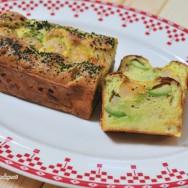 Le Cake Salé Avocado and Shrimp