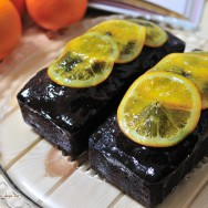 Cake chocolat à l'orange
