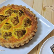 Tuna and Cauliflower Quiche