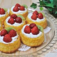 Strawberry Basket Cake